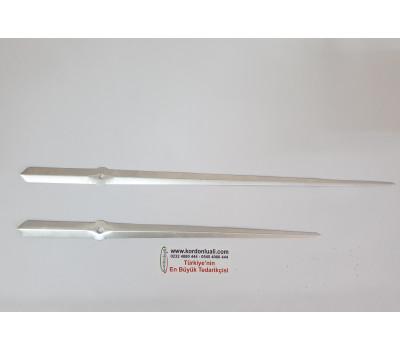 Akrep 30 Yelkovan 38 cm Metal Gümüş 100 Ad